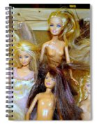 Girls Just Wanna Have Fun Spiral Notebook