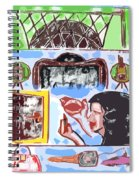 Girls Night Out Spiral Notebook