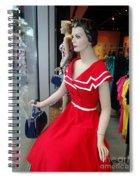 Girls On Display Spiral Notebook