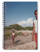 Girls Without Playground Spiral Notebook