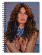 Gisele Bundchen Painting Spiral Notebook