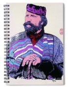 Giuseppe Garibaldi Spiral Notebook