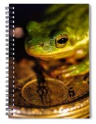 Give Me Time Spiral Notebook