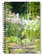 Giverny North Number Three Spiral Notebook