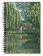 Giverny Reflections Spiral Notebook