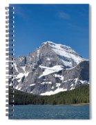 Glacier National Park Mountain Spiral Notebook