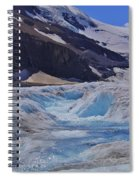 Glacial Meltwater 1 Spiral Notebook