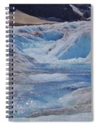 Glacial Meltwater 2 Spiral Notebook