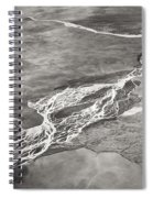Glacial Rivers Spiral Notebook