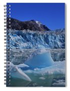 Glacier And Ice Spiral Notebook