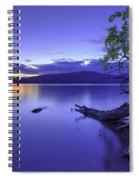 Glacier Blue Spiral Notebook