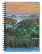 Glacier Castle Ruins Spiral Notebook