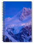 Glacier Covered Paine Grande, Chile Spiral Notebook