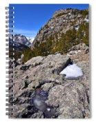 Glacier Gorge Ahead Spiral Notebook