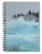 Glacier Spiral Notebook