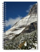 Glacier Mountains Spiral Notebook