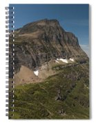 Glacier National Park Panorama Spiral Notebook