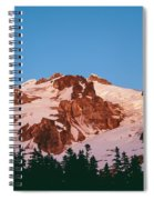Glacier Peak At Kennedy Ridge Spiral Notebook