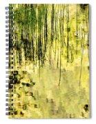 Glacier Reflections Glacier National Park Spiral Notebook