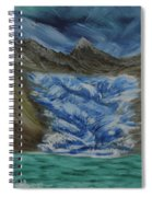 Glacier To Ocean Spiral Notebook