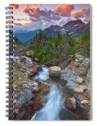 Glaciers Wild Spiral Notebook
