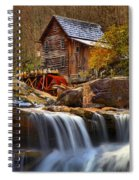 Glade Creek Cascades Spiral Notebook