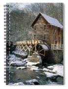 Glade Creek Grist Mill In West Virginia Spiral Notebook
