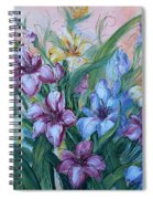 Gladiolus Spiral Notebook