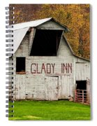 Glady Inn Barn Wv Spiral Notebook