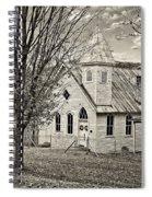 Glady Presbyterian Sepia Spiral Notebook