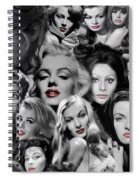 Glamour Girls 1 Spiral Notebook