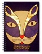 Glamour Puss Spiral Notebook
