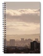 Glasgow Cityscape Spiral Notebook