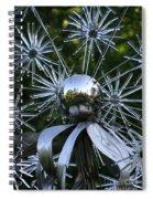 Glass Art Spiral Notebook