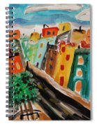 Glass Front Office Building Spiral Notebook