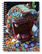 Glass Jaguar Spiral Notebook