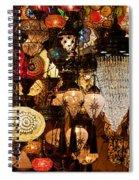 Glass Lanterns 08 Spiral Notebook