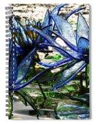 Glass Lilies Spiral Notebook