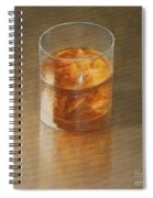 Glass Of Whisky 2010 Spiral Notebook