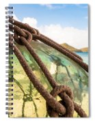 Glass Ornament Spiral Notebook