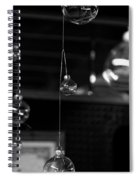 Glass Ornaments Spiral Notebook