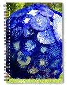 Glass Planet Spiral Notebook