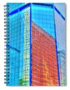 Glass Reflections Spiral Notebook