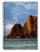 Glass Rocks Spiral Notebook