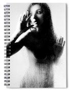 Glass Shadows Spiral Notebook