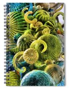 Glass Shapes Spiral Notebook