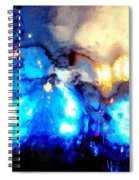 Glass Vase Abstract Spiral Notebook