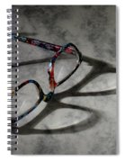 Glasses 1b Spiral Notebook