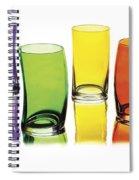 Glasses-rainbow Theme Spiral Notebook