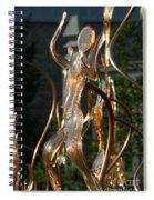 Glassy Lady Spiral Notebook